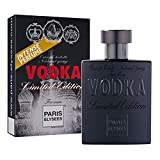 VODKA Limited Edition Perfume para hombre Paris Elysees 100 ml vaporizador Fresco - Aromático