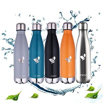 Aorin 17oz Doppelwandige Vakuum-isolierte Edelstahl-Trinkflasche, um Ihre Getränke heiß und kalt zu halten Ideal für Outdoor-Sport Camping Mountainbike.