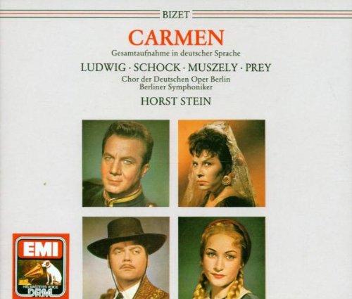 Preisvergleich Produktbild Bizet: Carmen (Gesamtaufnahme) (deutsch)
