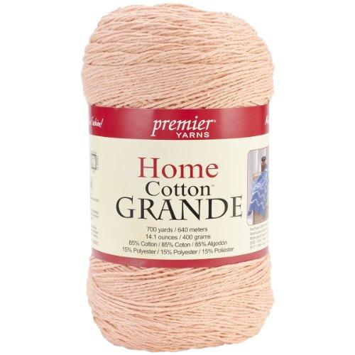 Premier Yarns Blend Home Baumwolle Grande Yarn-solid-Peach (Premier Yarn-home-baumwolle Grande)