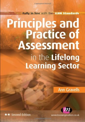 Principles and Practice of Assessment in the Lifelong Learning Sector (Further Education and Skills) by Gravells, Ann (June 9, 2011) Paperback