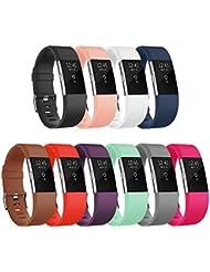Fitbit Charge 2 Bracelet,Vancle Bracelet de Remplacement Édition Classique pour Fitbit Charge 2 (Sans Traqueur)
