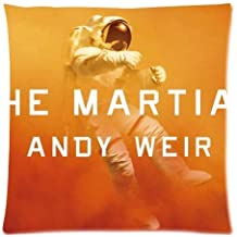 The Martian Pattern Personalized Custom Zippered Soft Pillowslips Pillow Cases Standard Size 18x18 Inches (Twin sides)