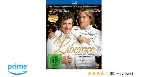 dbceca0b7 Liberace - Zu viel des Guten ist wundervoll [Blu-ray]: Amazon.de: Michael  Douglas, Matt Damon, Rob Lowe, Dan Aykroyd, Steven Soderbergh: DVD & Blu-ray