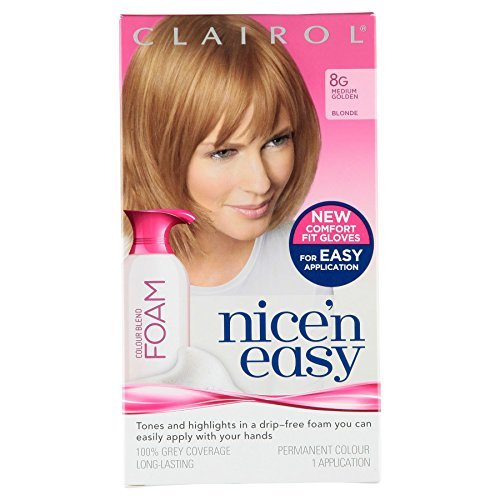3-x-clairol-nicen-easy-permanent-colour-blend-foam-8g-medium-golden-blonde