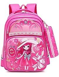 9299c2b3fbb8c4 Sacchetto Di Scuola Per Bambini Personaggio Dei Cartoni Animati Stampato  Impermeabile Zaino Ragazza Adatto Per Bambini Di Età…