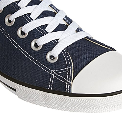Converse Chuck Taylor All Star Core Slim Canvas Ox, Basket mode mixte adulte Bleu
