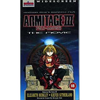 Armitage III: Poly Matrix (1997) (widescreen) - UK VHS PAL VIDEO
