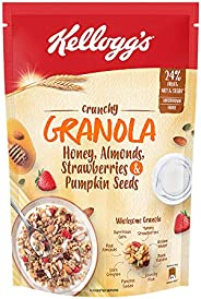 Kellogg's Crunchy Granola Honey, Almonds, Strawberries & Pumpkin Seed