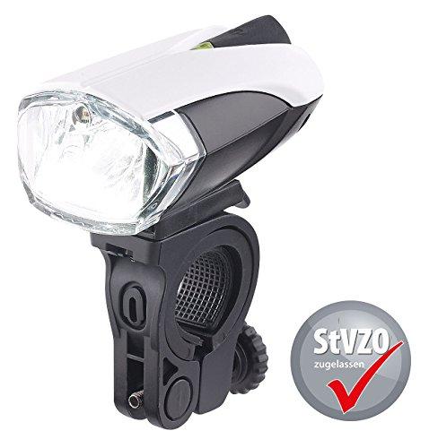 KryoLights Fahrradleuchte: Fahrradlampe FL-211 mit Cree-LED, Akku, zugelassen nach StVZO (LED Fahrradlicht)