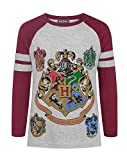 Harry Potter Hogwarts Girl's Raglan T-Shirt (7-8 Years)
