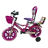 Global Bikes Barbie 16T (Pink) Kids Bicycle for 5 to 8 Year Fully