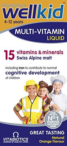 Liquid Kids Multivitamin (Vitabiotics Wellkid Multivitamin Liquid, 150 ml)