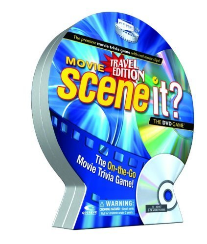 Scene It? Movie Travel DVD Game by Screenlife