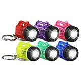12 x HC 915711 Schlüsselanhänger Taschenlampe Lampe Vapor Kunststoff 4 cm...
