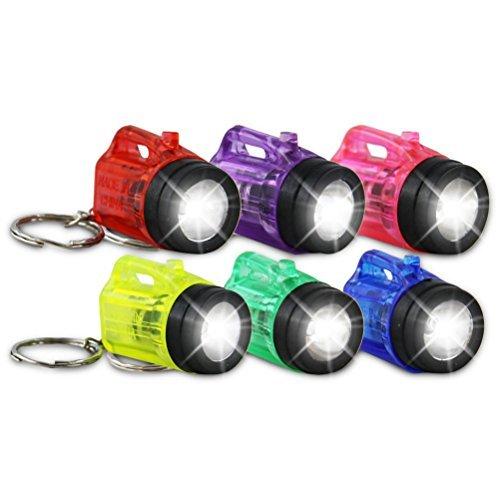 12 x Schlüsselanhänger Taschenlampe Lampe Vapor 4cm