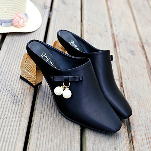 ZYUSHIZ Weibliche Sandalen Hausschuhe Baotou 36EU