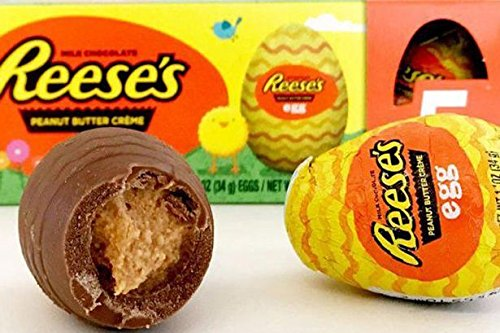 Full Box 36 x Reeses Milk Chocolate Peanut Butter Creme Easter Eggs