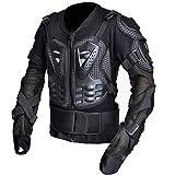 Moto Armure Active Haute Élasticité Poitrine Protection Dorsale Cavalier Courses Hors Route Vêtements Shatter-Resistant Renforcer Protecteur,XXXL