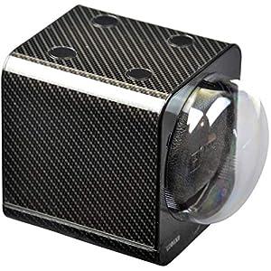 STARTERSET: Boxy Uhrenbeweger Fancy Brick Carbon – von Beco-Technic- (mit Stromadapter) …
