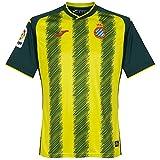 Joma Camiseta RCD Espanyol Tercera Equipación 2017-2018 Verde-Amarillo Talla M