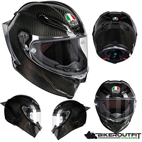 AGV Helm Motorrad Pista GP R E2205Solid PLK, Glossy Carbon, XL Helm Motorrad Gp
