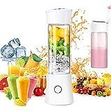 Portable Blender,Household Personal Smoothie Blender Mini Juicer Cup 480ML Fruit Juice Mixer
