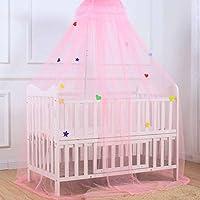 Moskitonetz für Babybetten Netting Baldachin Vorhänge Clip Bett Design für Kinder Kinder Antimoskito Bites Schutz Bildschirm Keine Chemikalien