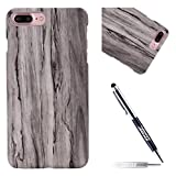 JAWSEU Coque Etui iPhone 7 Plus/8 Plus Dur Rigide Hard Case Luxe Créatif Raffinement...