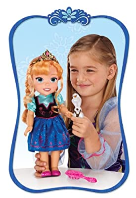 Frozen - Muñeca fashion Anna (Jakks Pacific UK 31008-TT-6) de Jakks Pacific UK