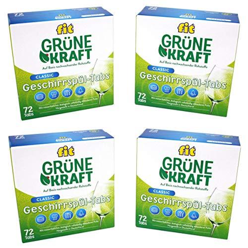 FIT Grüne Kraft Classic 288 Tabs Spülmaschinentabs Geschirrspültabs