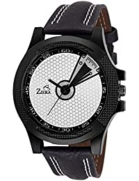 ZIERA ZR7030 BLACK LEATHER Analog Watch - For Men