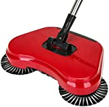 Best Tile Cleaning Machines - Automatic Hand Push Sweeper 360-Degree Built-In Rotating Brushes Review