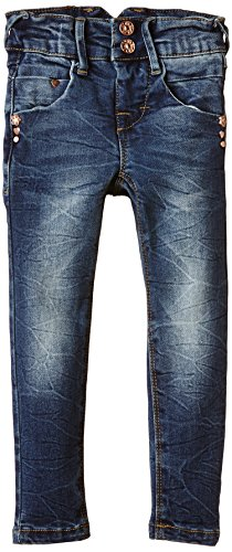 NAME IT Mädchen Jeanshose NITRIT TREND K XXSL DNM PANT NOOS, Gr. 104, Blau (Medium Blue Denim)