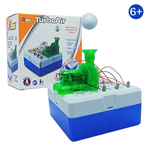 , ALIKEEY Magic Game DIY Turbo Air Schwimmende Kugel Spielzeug Educational Science Kits Kinder Geschenke FÜR MÄDCHEN Jungen FÜR MÄDCHEN Jungen ()