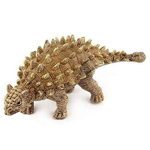 Ankylosaurus-Statue, Weichgummi-Ankylosaurus-Charakter, mesozoische Dinosaurier-Aktions-Karten-Welt, simulierte Dinosaurier-statische Charakter-Jungen-und Mädchen-Geschenke