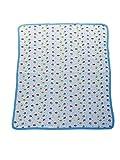 Mee Mee Baby Wrapper Cum Towel (Blue)