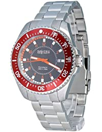 Nautec No Limit Herren-Armbanduhr Barracuda BC AT/STSTRDBK