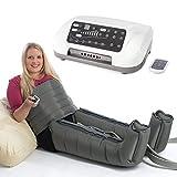 Vena Angel 6Premium Air Compression Massage Machine per gambe e girovita:: sequenziale gradiente Leg Massager W/6Air cuscini + 6programmi:: telecomando, supporto superiore + qualità