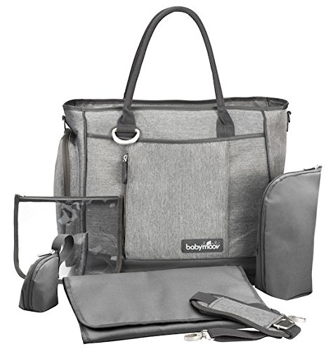 Babymoov Damen Wickeltasche Essential, smokey, A043552 - 4