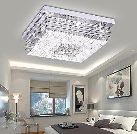 Led K9 Crystal Lampe Wohnzimmer Deckenleuchte, Rechteckigen