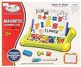 Magnettafel 2 in 1 Tischtafel Tafel und Zaubertafel Pad mit Magnetbuchstaben