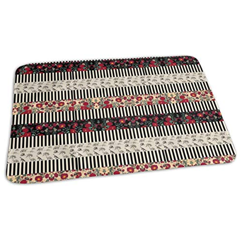 Mix N Math Stripes For Headbands And Whatnot Baby Portable Reusable Changing Pad Mat 19.7x 27.5 inch -