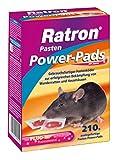 Frunol Ratron Pasten Power-Pads 29ppm, hochattraktiver, praktisch portionierter Pastenköder zur erfolgreichen Ratten- und Mäusebekämpfung, 210 g (14x15g)