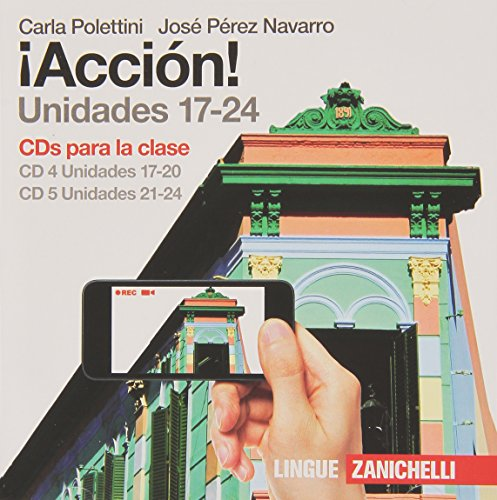 ¡Acción! Box 2 CD audio per la classe. Per le Scuole superiori