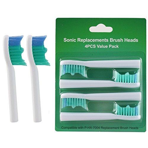 16 stk (4x4) Hofoo® Risches Elektrische Zahnbürste austauschbare Bürstenköpfe kompatibel mit Sonicare HX7004