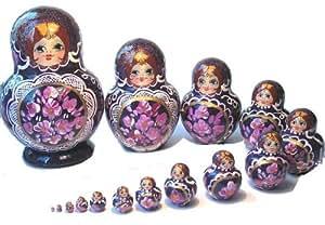 Poupee Russe Traditionnel Matriochka babouchka (Poupées Russes) 15