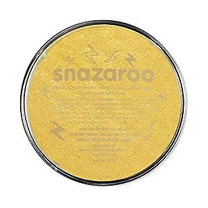 Snazaroo - Pintura facial y corporal, 18 ml, color dorado metálico