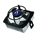 ARCTIC Alpine 64 GT - 80mm CPU Cooler Compatible with AMD, AM4, AM3(+), AM2(+), FM2(+), FM1, Ultra-Quiet CPU PWM Fan Cooler with Fluid Dynamic Bearing