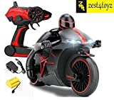 #10: Zest 4 Toyz 2.4 Ghz RC Motorcycle Bike With LED Lights